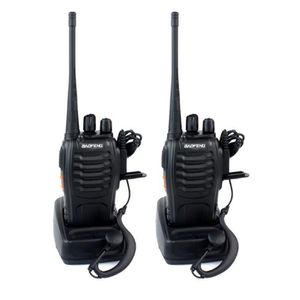 TALKIE-WALKIE 2pcs Walkie Talkie Baofeng BF-888S 5W 16CH UHF 400