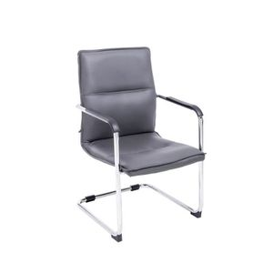 CHAISE DE BUREAU CLP Chaise à piétement luge SEATTLE, chaise de con