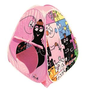 tente barbapapa achat vente jeux et jouets pas chers. Black Bedroom Furniture Sets. Home Design Ideas