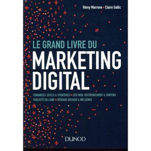 MANUEL UNIVERISTAIRE Livre - le grand livre du marketing digital