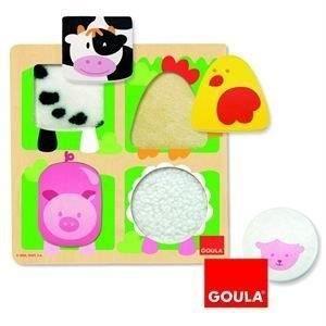 PUZZLE GOULA - 53011 - PUZZLE - FERME / ETOFFE