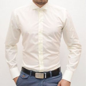 chemise chemisette chemise italienne col cass beige - Chemise Col Cass Mariage