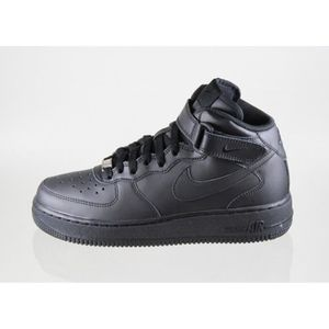 Mid Air Force Basket Femme Achat Nike Noir Vente One zSUVpM