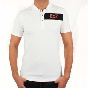 POLO Polo EA7 Emporio Armani  pour Homme 273817 Blanc