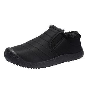 BOTTE Chaussures d'hiver d'homme résistant à l'usure cot