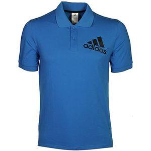 POLO Spelto Homme Polo Football Bleu Adidas