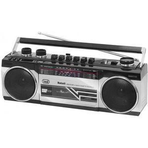 RADIO CD CASSETTE RADIO K7 BT GRIS USB SD RR 501 BT TREVI