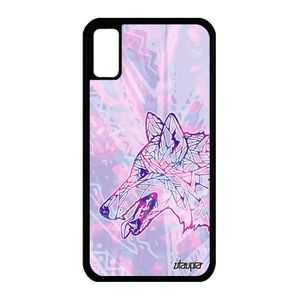 iphone x coque loup