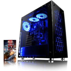 UNITÉ CENTRALE  VIBOX Nebula GS880T-8 PC Gamer Ordinateur avec War