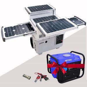 GROUPE ÉLECTROGÈNE WAGAN TECH Groupe électrogène solaire 1500W + grou