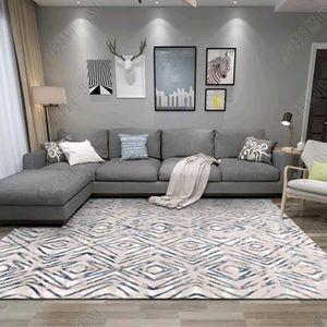 TAPIS tapis salon 120*200cm grand tapis berbere géométri
