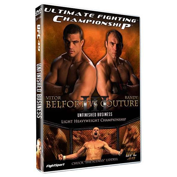 DVD Ufc 49 : unfinished business