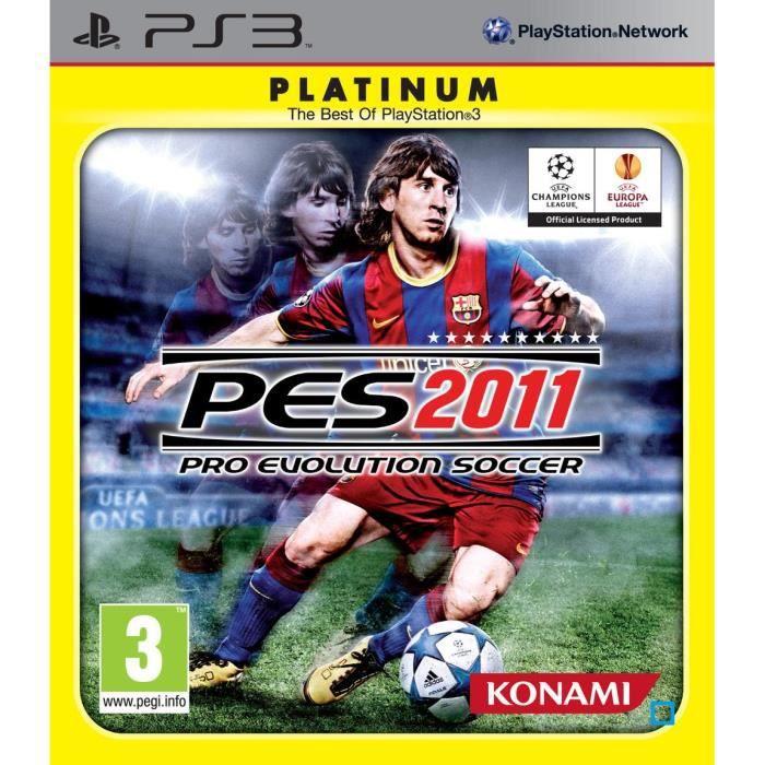 JEU PS3 PES 2011 / Jeu console PS3