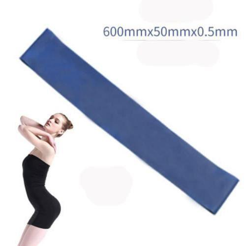 Bande élastique de résistance au yoga équipement de fitness intérieur et extérieur Bande élastique d'entraînement sportif Pilates