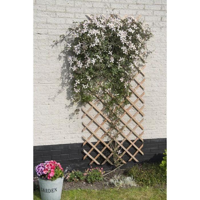 Magnifique-Palissade de jardin - Bordure de Jardin clôture de Jardin - 50 x 150 cm Bois Naturel classique💎2212