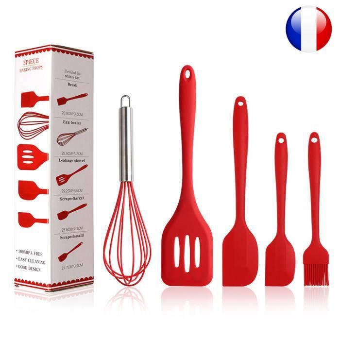 set ustensiles de cuisine- ustensile de pâtisserie - spatule , maryse