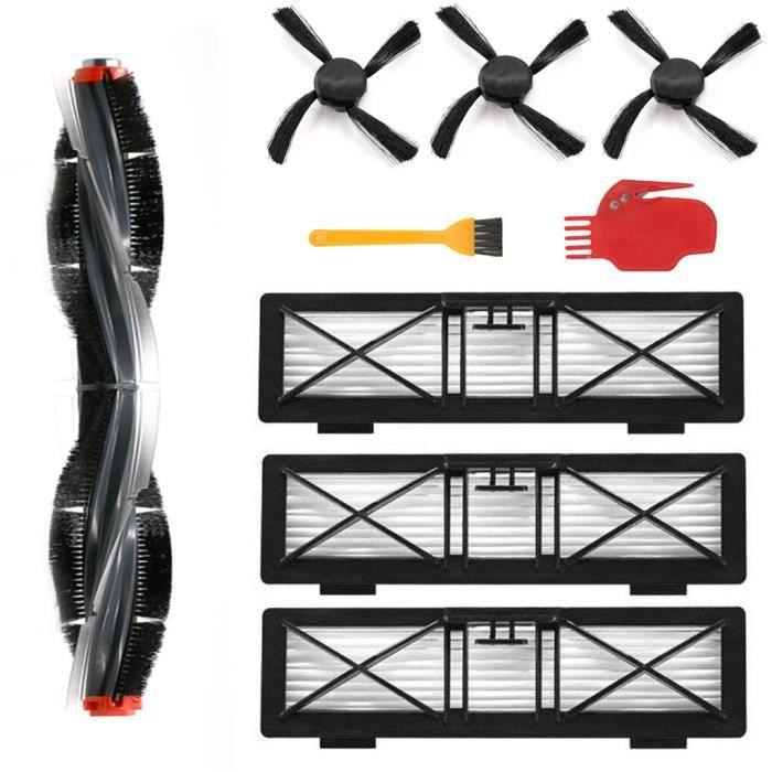 Accessoires de balayeuse pour aspirateur robot Neato 75e 75 80 85 Kit d'accessoires FWT90507004_Gaoqiaoe