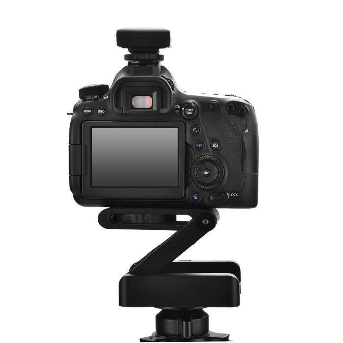 Tête de trépied pliable flexible de type Z, vis de fixation 1-4 pour Nikon Canon DSLR -CHE