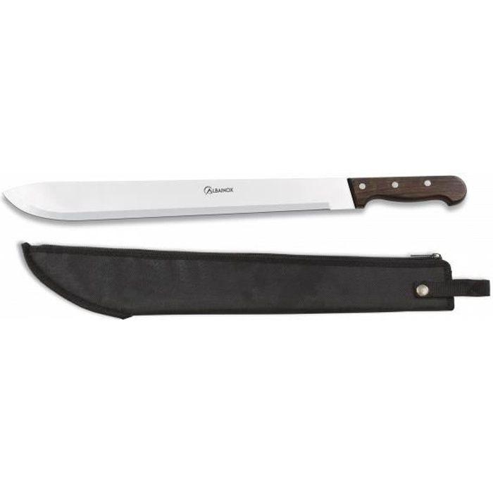 Machete Rod Cutter Martinez Albainox Albainox Albainox Mango Wood & 45 Cm Stainless Steel Blade Includes Cover 31712