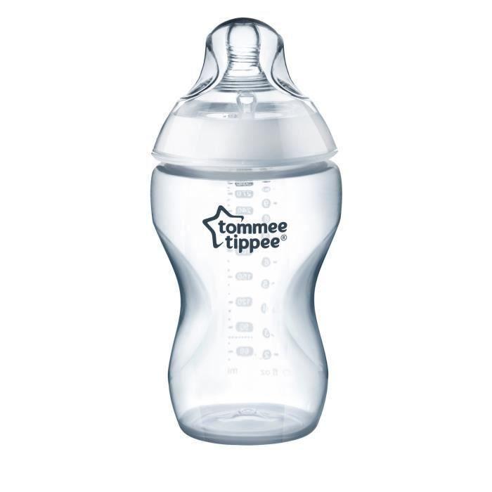 TOMMEE TIPPEE Biberon CTN Débit Préparation Epaisse 340 ml (Lot de 2)