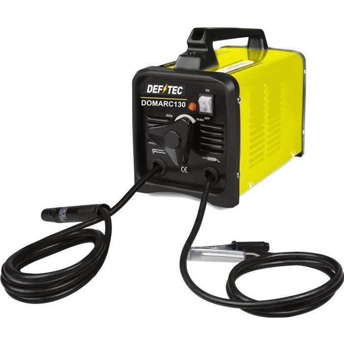 DEFITEC Poste à souder - 130 AMP - Jaune/Noir