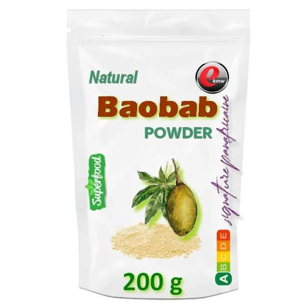 Poudre de baobab - signature panafricaine - 200g