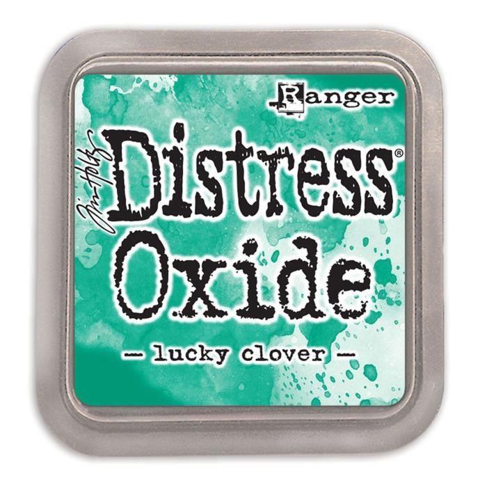 Encreur Distress Oxide de Ranger - Ranger distress oxides:Lucky Clover