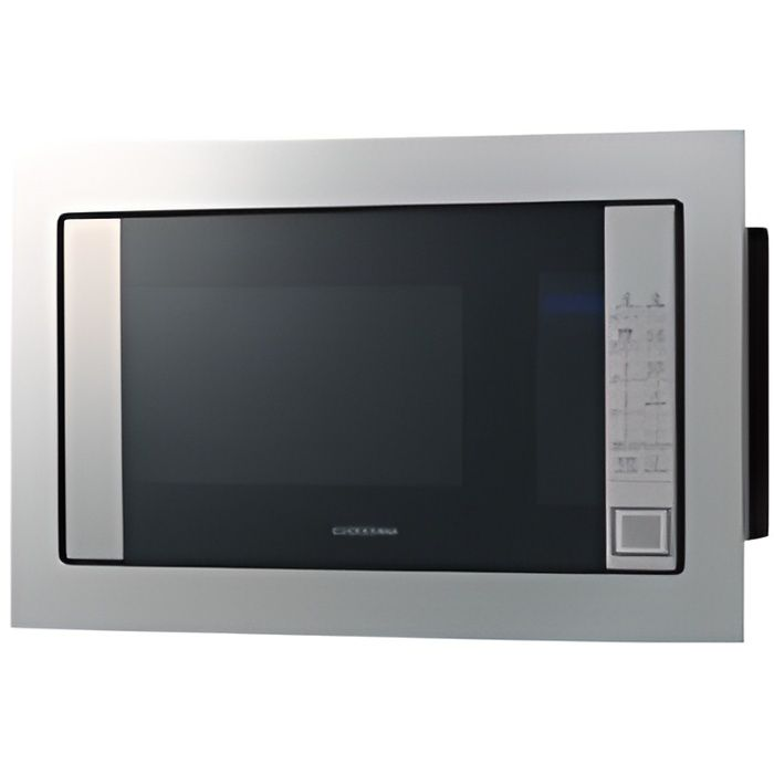 Samsung - micro-ondes + gril encastrable 20l 850w inox - fg77sust