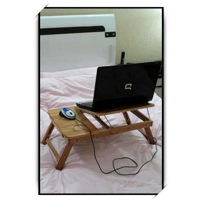 Table ordinateur support portable plateau tablette achat - Support pour ordinateur portable lit ...