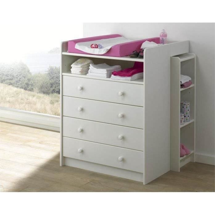 Table langer alicia achat vente table langer - Plan a langer adaptable sur toute commode ...