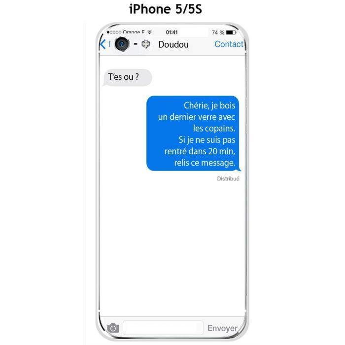 Coque iphone 5 es