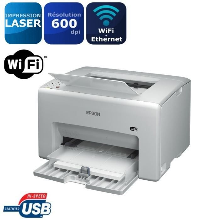 epson aculaser c1750w imprimante laser wi fi achat. Black Bedroom Furniture Sets. Home Design Ideas