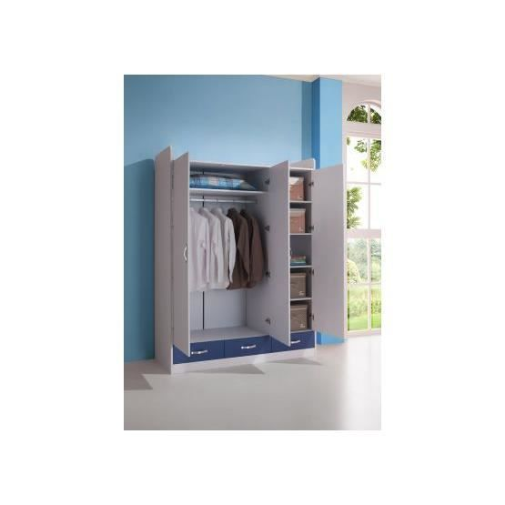Beautiful Armoire Enfant Fille Bleu Images - Yourmentor.info ...