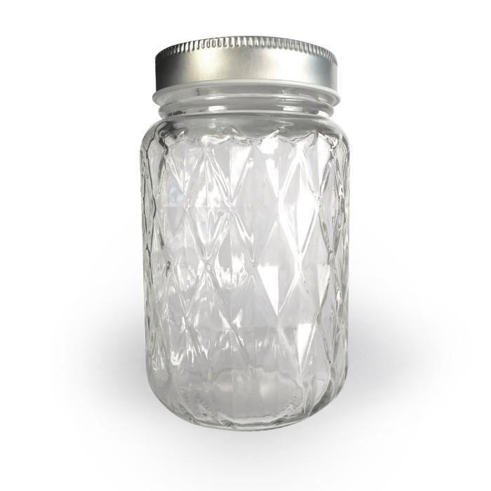 Neuf tailles différentes en plastique transparent rond cylindre stockage bocaux avec bouchon à vis