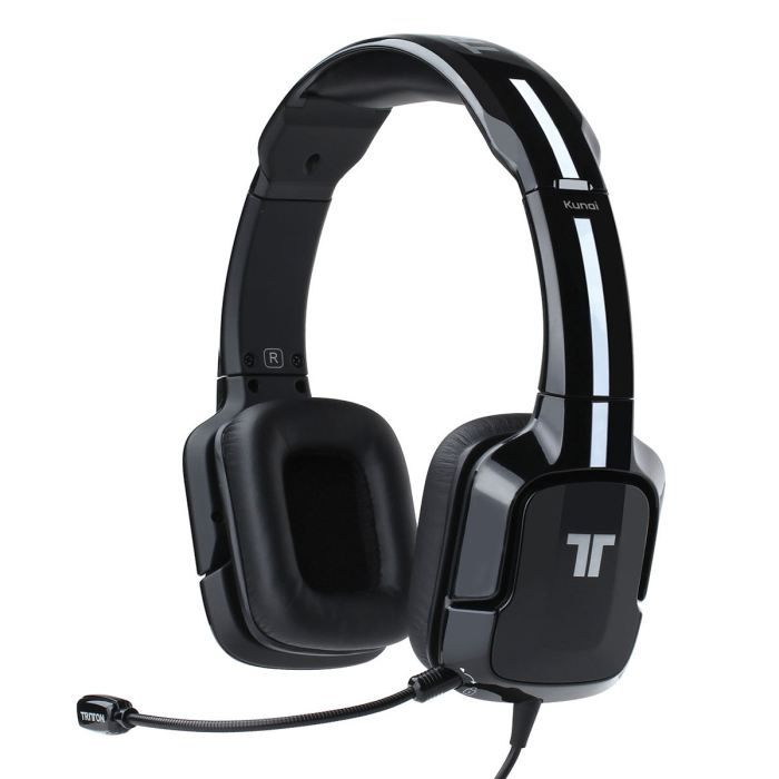 tritton kunai casque micro pour pc black achat vente casque microphone tritton kunai. Black Bedroom Furniture Sets. Home Design Ideas