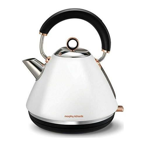 Morphy Richards or rose collection 102040 Traditionnel Bouilloire-Gris /& Rose Gol