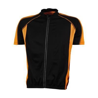 maillot cycliste homme zip int g noir orange achat vente maillot polo maillot cycliste. Black Bedroom Furniture Sets. Home Design Ideas
