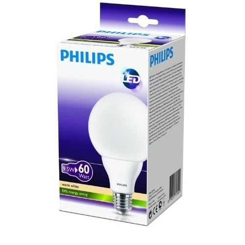 philips 929000262401 ampoule led globe culot achat vente philips 929000262401 ampoul. Black Bedroom Furniture Sets. Home Design Ideas