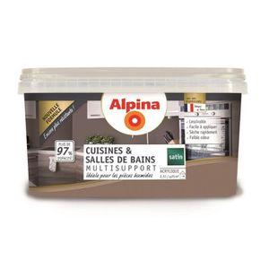 PEINTURE - VERNIS Peinture Alpina Cuisines et Salles de bains 2,5L -