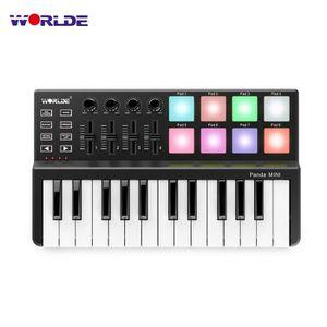 CLAVIER D'ORDINATEUR Contrôleur de clavier MIDI USB Ultra-Portable Pand