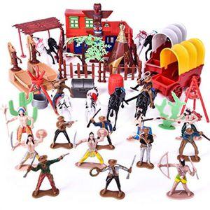 Team roping avec cow-boy SCHLEICH Farm World Play Set-Modèle 41418 NEUF//coffret