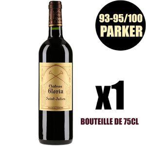 VIN ROUGE X1 Château Gloria 2016 75 cl AOC Saint-Julien Vin