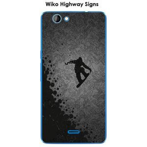 COQUE - BUMPER Coque Wiko Highway Signs design Lost in the sky Bl