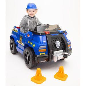 VOITURE ELECTRIQUE ENFANT PAT PATROUILLE Voiture Electrique Camion de Police