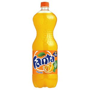 Soda - Thé glacé Fanta Orange 1,5L (pack de 4)