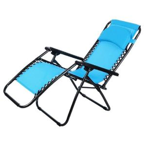 CHAISE fauteuil chaise pliante inclinable Zero Gravity in