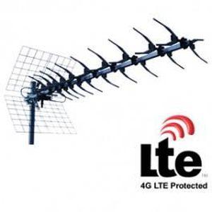 ANTENNE RATEAU antenne uhf 13 elements avec filtre lte