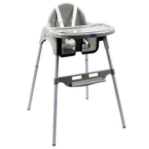 CHAISE HAUTE  Chaise haute bébé, enfant, réglable hauteur et tab