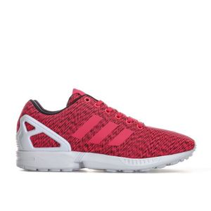 adidas zx flux rouge homme