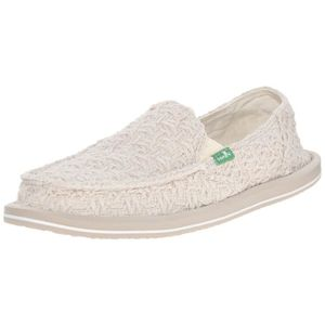 MOCASSIN Donna Knit point plat BLN6O Taille-36
